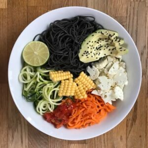 Vegan Recipe Black Bean Buddha Bowl