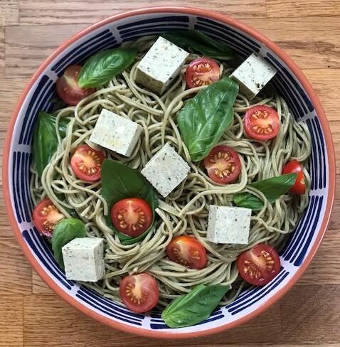 Gluten Free Edamame Vegan Pasta Recipe