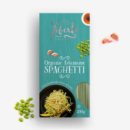 Spaghettis D'Haricots Edamame Biologiques 200 g